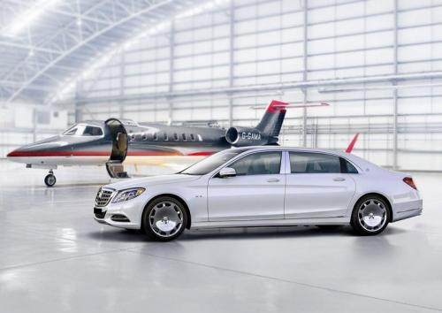 Limousine Mercedes maybach S650 01