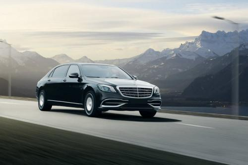 Limousine Mercedes maybach S650 02