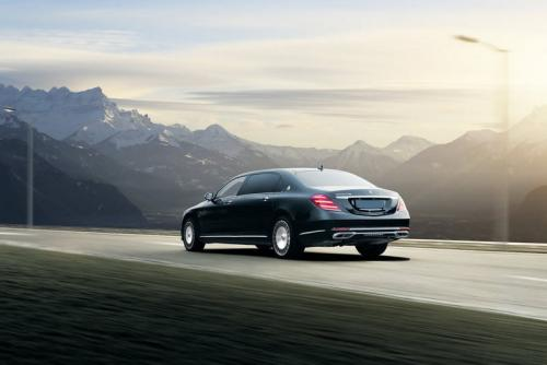 Limousine Mercedes maybach S650 03