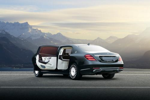 Limousine Mercedes maybach S650 04