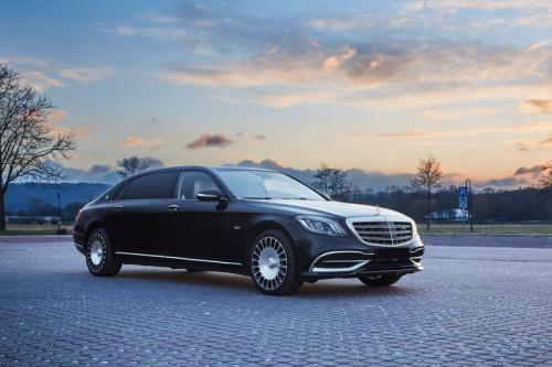 Limousine Mercedes maybach S650 06