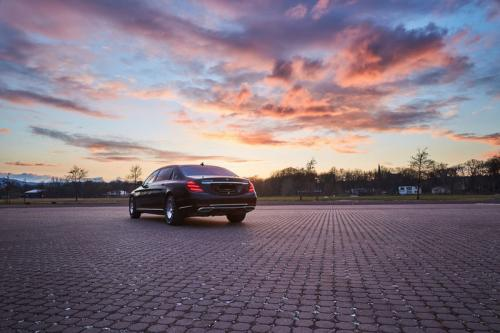 Limousine Mercedes maybach S650 07