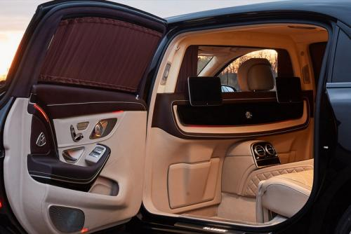 Limousine Mercedes maybach S650 08