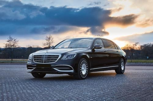 Limousine Mercedes maybach S650 16