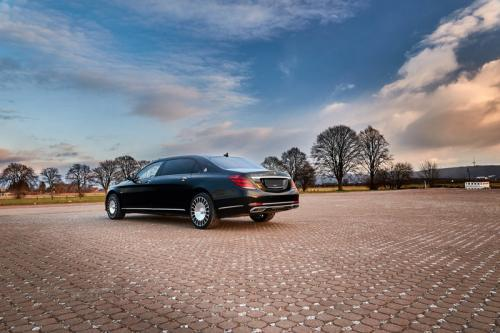 Limousine Mercedes maybach S650 17
