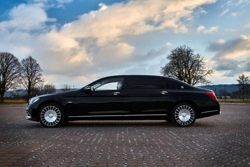 Limousine Mercedes maybach S650 18