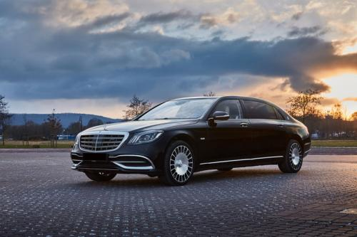 Limousine Mercedes maybach S650 19
