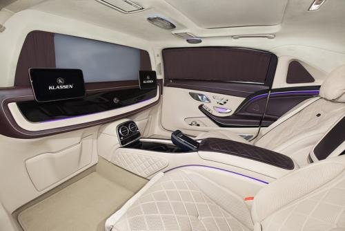 Limousine Mercedes maybach S650 23