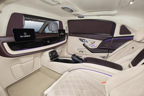 Limousine Mercedes maybach S650 24