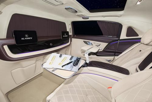 Limousine Mercedes maybach S650 27