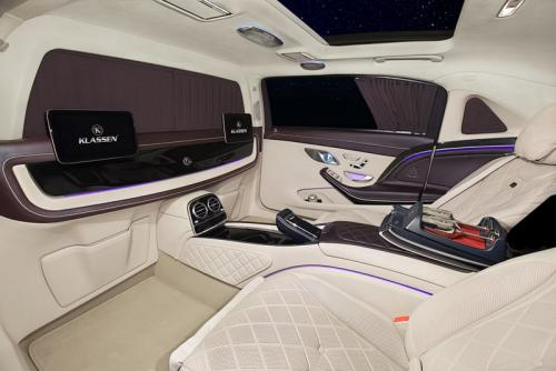 Limousine Mercedes maybach S650 28