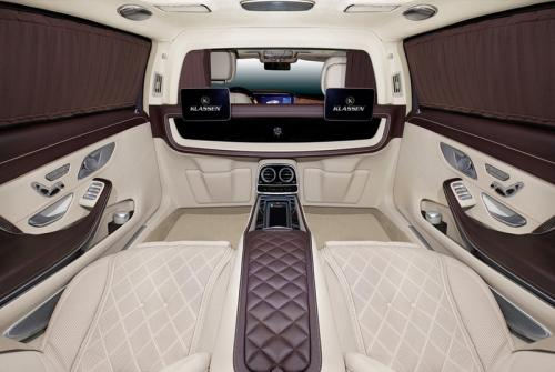 Limousine Mercedes maybach S650 30