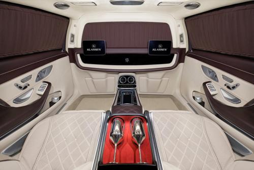Limousine Mercedes maybach S650 31