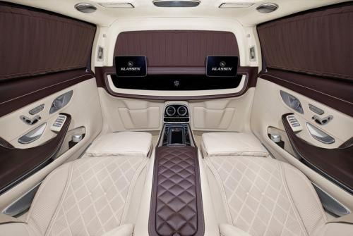 Limousine Mercedes maybach S650 32